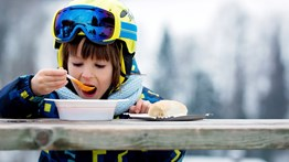 How to Eat Well at a Ski Resort