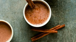 Hot Chocolate and Nut Butter Smoothie