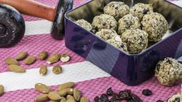 Cranberry, Almond & Chia Energy Balls